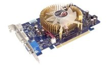 Asus EN8500GT TOP/HTP/256M (NVIDIA GeForce 8500GT, 256MB, 128-bit, GDDR3, PCI Express X16)