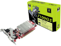 PALIT GeForce 7100GS (NDIVIA GeForce 7100GS, 128MB, 64-bit, GDDR3, PCI Express x16)