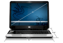 HP Pavilion HDX9200 (Intel Core 2 Extreme X7900 2.8GHz, 4GB RAM, 240GB HDD, VGA ATI Mobility Radeon HD 2600XT, 20.1 inch, Windows Vista Ultimate)