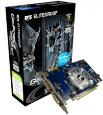 ECS N9400GT-512MX-F (GeForce 9400GT, 512MB, 128-bit, GDDR3, PCI Express 2.0 )