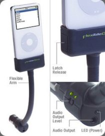 Flexible Dock iPod Car Charger