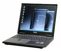 Dell Latitude D410 (Intel Pentium M 735A 1.7Ghz, 1GB RAM, 60GB HDD, VGA Intel GMA 900, 12.1 inch, PC Dos)