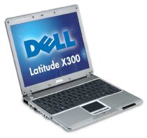 Dell Latitude X300 (Intel Pentium M 1.4Ghz, 1GB RAM, 60GB HDD, VGA Intel Extreme Graphics II, 12.1 inch, PC DOS)