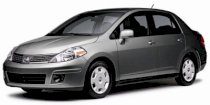 Nissan Versa Base 1.6 MT Sedan 2009