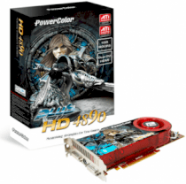 PowerColor PLUS HD4890 (ATI RADEON HD4890, 1GB, 256-bit, GDDR5, PCI Express 2.0 x16)