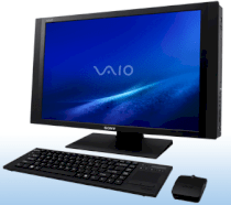 Máy tính Desktop Sony Vaio VGC-RT150Y (Intel Core 2 Quad Q9400 2.66GHz, 8GB RAM, 1TB HDD, VGA NVIDIA GeForce 9600M GT, 25.5inch, Windows Vista Ultimate)