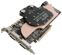 BFG NVIDIA GeForce GTX 280 H2OC (NVIDIA GeForce GTX 280, 1GB, 512-bit. GDDR3, PCI Express x16 2.0) Water Cooling Solution