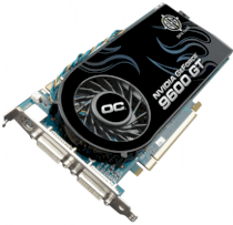 BFG NVIDIA GeForce 9600 GT OC (B) (NVIDIA GeForce 9600 GT, 512MB, 256-bit, GDDR3, PCI Express x16 2.0)