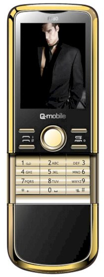 Q-mobile F680 Gold Black