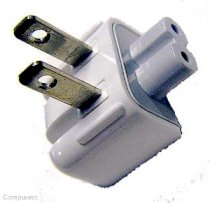 Apple iBook iPod PowerBook AC Wall Adapter Converter Plug duck-head
