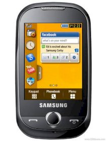 Samsung S3653 Corby Jamaican Yellow