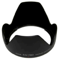 Lens Hood EW-78D for Canon EF-S 18-200mm f3.5-5.6 IS