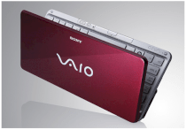 Sony Vaio VGN-P598E/R Netbook (Intel Atom Z530 1.33GHz, 2GB RAM, 128GB HDD, VGA Intel GMA 500, 8 inch, Windows Vista Home Premium)