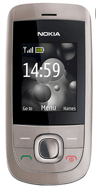 Nokia 2220 Slide Warm Silver