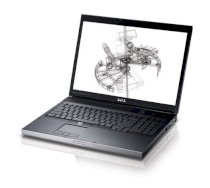 Dell Precision M6500 (Intel Core i7-720QM 1.6GHz, 2GB RAM, 160GB HDD, VGA ATI FirePro M7740, 17 inch, Windows 7 Ultimate)