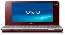 Sony Vaio VGN-P698E/R Netbook (Intel Atom Z530 1.6GHz, 2GB RAM, 128GB HDD, VGA Intel GMA 500, 8inch, Windows Vista Home Premium)