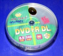 Somei DVD+R DL Double Layer Printable 8,5GB 8X