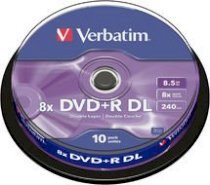 Verbatim DVD+R DL Double Layer 8,5GB 8X