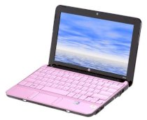 HP Mini 110-1127NR (VM139UA) Pink (Intel Atom N270 1.6GHz, 1GB RAM, 250GB HDD, VGA Intel GMA 950, 10.1inch, Windows 7 Starter)