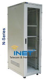 INETRACK 19'' Cabinet For Server 20U (600 x 600) N-Series