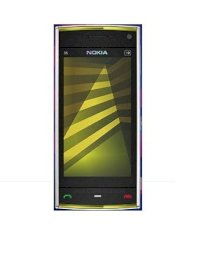 Nokia X6 white on yellow 32GB