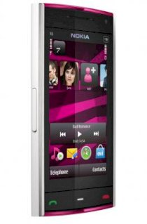 Nokia X6 White on Pink 16Gb
