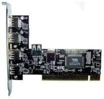 Card PCI to 4 USB