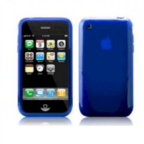 iSkin Cover Apple iPhone 3G 3GS SOLO Case Blue