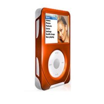 iSkin cover ev04 Duo apple iPod Classic 6th 6G Gen 80/120GB Sienna Orange