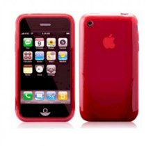iSkin Cover Apple iPhone 3G 3GS SOLO Case Red