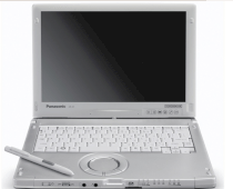 Panasonic Toughbook C1 (Intel Core i5-520M 2.4GHz, 2GB RAM, 250GB HDD, 12.1 inch, Windows 7 Professional)
