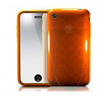 iSkin Cover Apple iPhone 3G 3GS SOLO FX Case Sunrise Orange