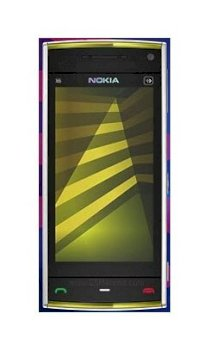 Nokia X6 Yellow on White 16Gb