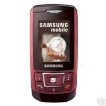 Samsung D900 Red