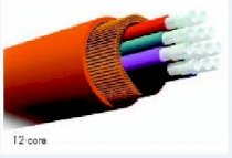 AMP Indoor, Distribution Tight Buffered F.O. Cable, OS1, 6-fibre ( 1-502989-4 )