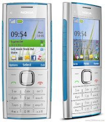 Nokia X2 Blue on Silver