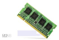 PQI - DDR2 - 667MHz - 512MB - SO-DIMM For Notebook