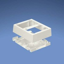 Pan-Way Fast-Snap Surface Mount Outlet Boxes -máng đi cáp- (JBP2FSIW)