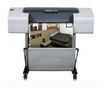 HP Designjet T1120 24-in Printer CK837A