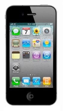 Apple iPhone 4 16GB Black (Lock Version)
