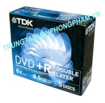 DVD+R Double Layer 8,5G TDK 8X box