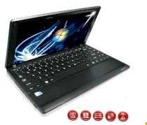 VENR NETBOOK V 83SGi (Intel Atom N450 1.66GHz, 1GB HDD, 320GB HDD, VGA Intel GMA 3150, 11.6 inch, Windows 7 Starter)