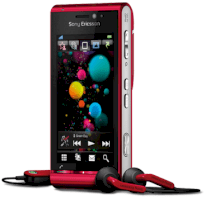 Sony Ericsson Satio (Idou) U1i Red