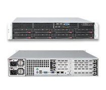"SuperServer 6026T-6RF+ (Intel Xeon 5600/5500, DDR3 Up to 192GB, HDD 8 x 3.5"")"