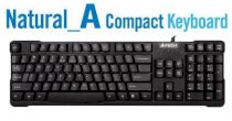 A4tech Natural_A Compact Keyboard kb(s)-750