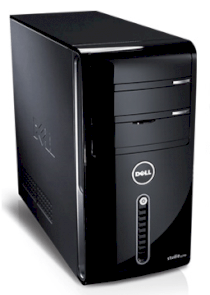 Máy tính Desktop Dell Studio XPS 435MT (i7 920 - MS960) (Intel Core i7-920 2.66GHz, RAM 4GB, HDD 500GB, VGA ATI Radion HD4650, PC DOS, khong kem man hinh)