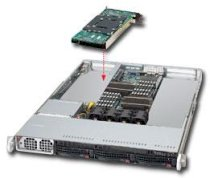 """SuperServer 6016T-NTF (Intel Xeon 5500 series, DDR3 Up to 96GB, HDD 4 x 3.5"""")"""
