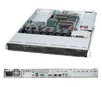 "SuperServer 1026T-URF (Intel Xeon 5500 series, DDR3 Up to 96GB, HDD 8 x 2.5"")"