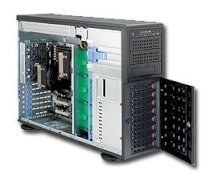 "SupweWorkstation Server 7046A-HR+F (Intel Xeon 5600/5500, DDR3 Up to 144GB, HDD 8 x 3.5"")"
