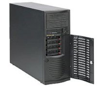 SupweWorkstation Server 7046A-T (Intel Xeon 5600/5500, DDR3 Up to 96GB, HDD 6x SATA hotswap drive bays 2 spare Bays)
